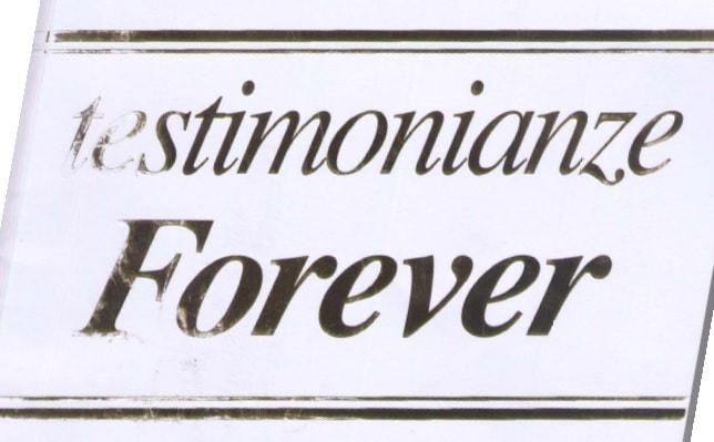 Copertina libro su opinioni di utilizzatori dei prodotti della Forever