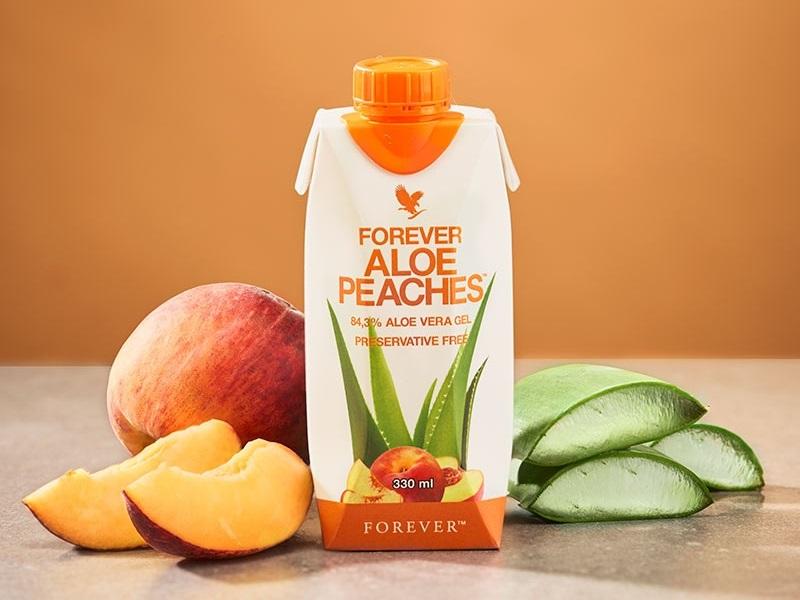 Forever Aloe Peaches anche in confezione tascabile