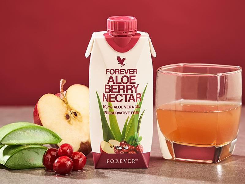 Forever Aloe Berry Nectar anche in confezione tascabile
