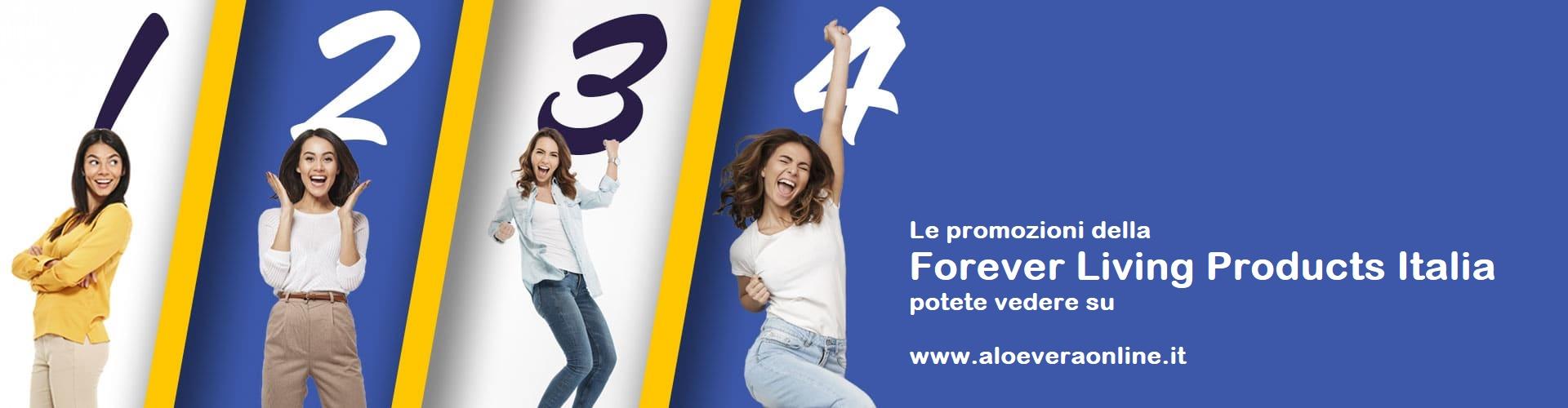 Promozioni della Forever Living Products Italy